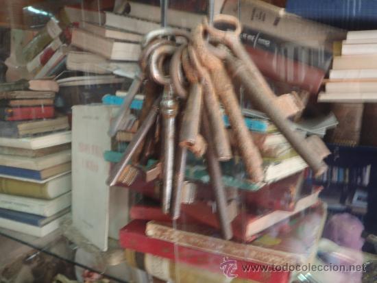 LLAVES ANTIGUAS LOTE 14 LLAVES (Antigüedades - Técnicas - Cerrajería y Forja - Llaves Antiguas)