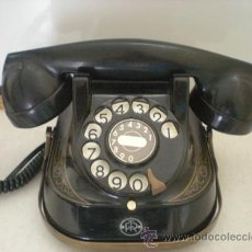 Teléfonos: TELEFONO MESA BAQUELITA. Lote 34144128