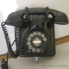 Teléfonos: TELEFONO TELEFONICA BAQUELITA. Lote 34144201