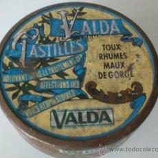 Antigüedades: CAJA DE PASTILLAS VALDA. Lote 34148182