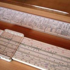 Antigüedades: REGLA DE CALCULO FABER CASTELL CASTELL-DUPLEX 2/82 (UNA GRAN CALCULADORA) . Lote 34304745