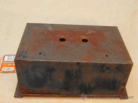Antigüedades: CAJA MATERIAL ELECTRICO - Foto 2 - 34332623