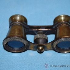 Antigüedades: ANTIGUO PRISMÁTICO EN METAL. Lote 34406068