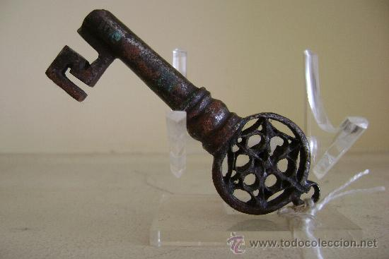 Antigüedades: LLAVE VENECIANA SIGLO XVI.-065 - Foto 3 - 34369712