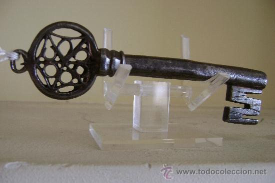 Antigüedades: LLAVE VENECIANA SIGLO XVI.LL-063 - Foto 3 - 34369900