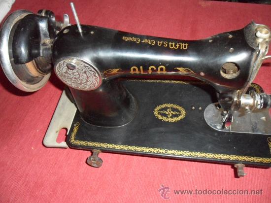 Antigüedades: maquina de coser alfa - Foto 2 - 98677348