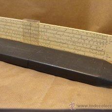 Antigüedades: ANTIGUA REGLA DE CALCULO - BRITISH THORNTON P271 - MADE IN ENGLAND 1967 - 36 CMS P-271. Lote 178635758