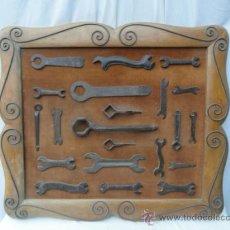 Antigüedades: CUADRO DE HERRAMIENTAS.. Lote 135604327