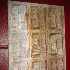 Antigüedades: ANTIGUO SELLO DE IMPRENTA. BRANDY TERRY. 22 X 30,5 CM. . Lote 34508450