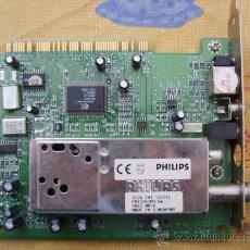 Antigüedades: CONCEPTRONIC TVCARD FM STEREO (CONTVCONFM) PCI. Lote 34513708