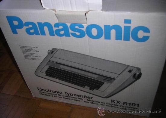 Antigüedades: Máquina de Escribir Electrónica Panasonic, como nueva. RECOGIDA LOCAL - Foto 4 - 34528680