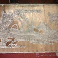 Antigüedades: BONITO SELLO DE IMPRENTA ANTIGUO DEL PUERTO DEL PUERTO DE SANTA MARIA.48 X 33,5 CM. VER FOTOS. . Lote 34540873