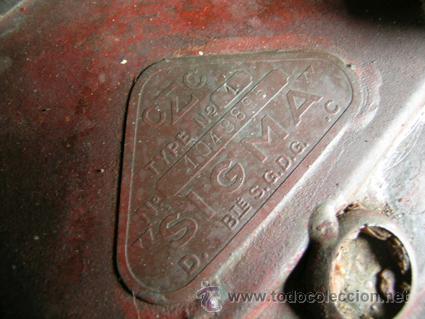 Antigüedades: Antiguo contador de gas de Catalana de Gas - MARCA SIGMA - Foto 4 - 34544944