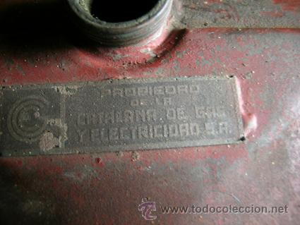 Antigüedades: Antiguo contador de gas de Catalana de Gas - MARCA SIGMA - Foto 5 - 34544944