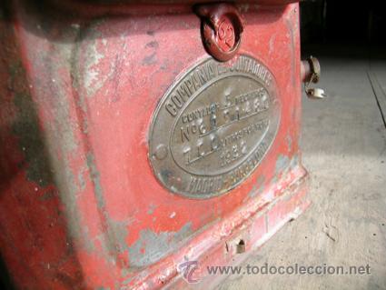 Antigüedades: Antiguo contador de gas de Catalana de Gas - MARCA SIGMA - Foto 9 - 34544944