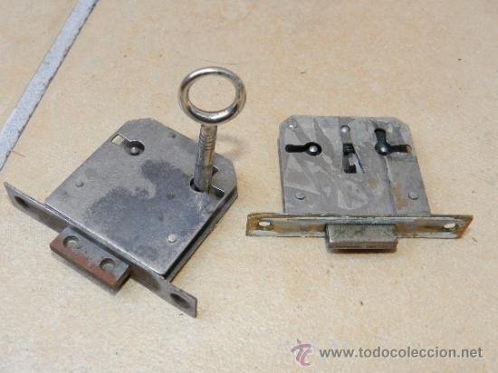 Tipos de cerraduras antiguas
