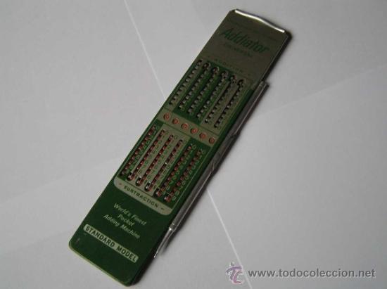 Antigüedades: CALCULADORA ADDIATOR UNIVERSAL - Foto 3 - 34699226