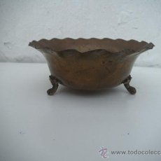 Antigüedades: CUENCO DE ALPACAR BARBERIA. Lote 34747252