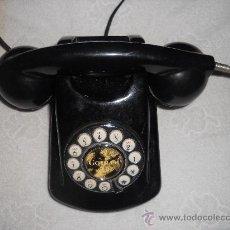 Teléfonos: ANTIGUO TELEFONO BAQUELITA WWTTON .FUNCIONA .. Lote 34862390