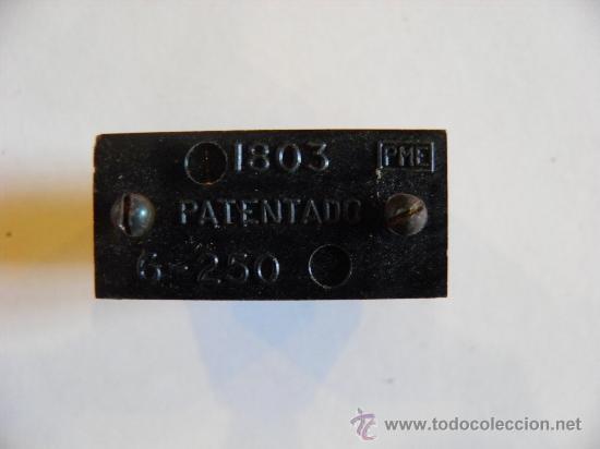 Antigüedades: Electricidad pulsador interruptor. Caja de 12 Interruptores pulsadores de baquelita. - Foto 2 - 34897614