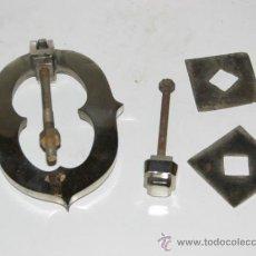 Antigüedades: ANTIGUO LLAMADOR DE NIQUEL. Lote 34949768