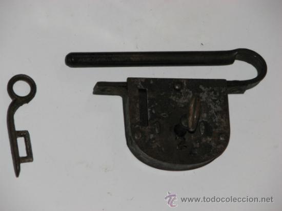 Antigüedades: ANTIGUO CANDADO - Foto 3 - 34949981