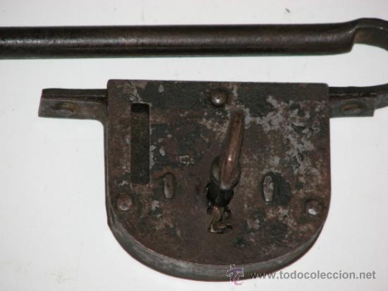 Antigüedades: ANTIGUO CANDADO - Foto 2 - 34949981