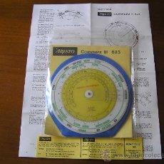Antigüedades: REGLA DE CALCULO CIRCULAR ARISTO 623 COMMERZ III - CALCULADORA SLIDE RULE RECHENSCHIEBER. Lote 27210942