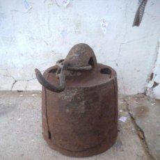 Antigüedades: PESA DE CASI 25 KILOS HIERRO. Lote 34977670