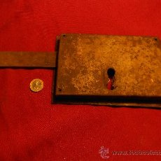 Antigüedades: ANTIGUA CERRADURA . Lote 35038473