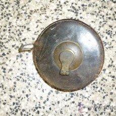 Antigüedades: CINTA METRICA DE CUERO ANTIGUA. Lote 35040384