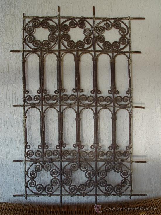 Preciosa reja antigua forja rabe comprar objetos cerrajer a y forja antigua en - Rejas de forja antiguas ...
