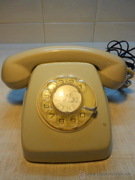 TELEFONO HERALDO (Antigüedades - Técnicas - Teléfonos Antiguos)