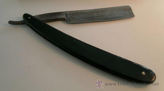 Antigüedades: Antigua Navaja de afeitar *GUILLERMO HOPPE. SOLINGEN. 13* -- Ppios. S. XX - Foto 5 - 35140470
