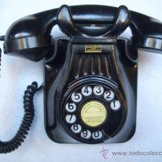 Teléfonos: TELÉFONO ANTIGUO AÑOS 50 STANDARD ELÉCTRICA, S.A. - MADRID 100% ORIGINAL. ADAPTADO A FIBRA ÓPTICA.. Lote 67398479
