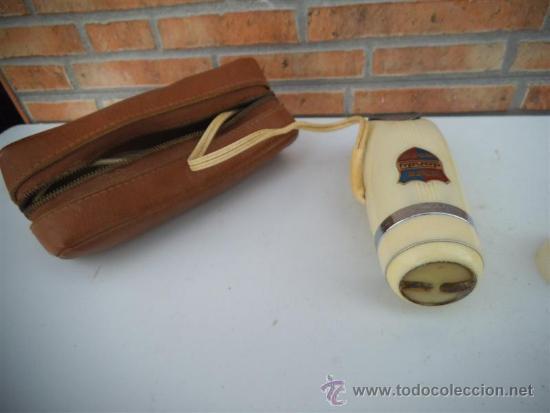 Antigüedades: maquina de afeitar electrica antigua Dandy - Foto 2 - 216481837