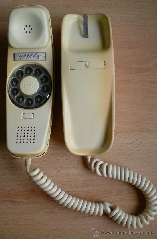 TELÉFONO GÓNDOLA CITESA COLOR MARFIL CREMA (Antigüedades - Técnicas - Teléfonos Antiguos)