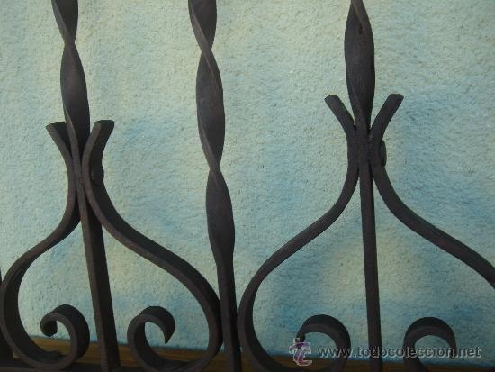 Antigüedades: DETALLE DEL TRABAJO DE FORJA - Foto 3 - 35214296