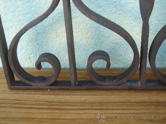 Antigüedades: DETALLE DEL TRABAJO DE FORJA - Foto 4 - 35214296