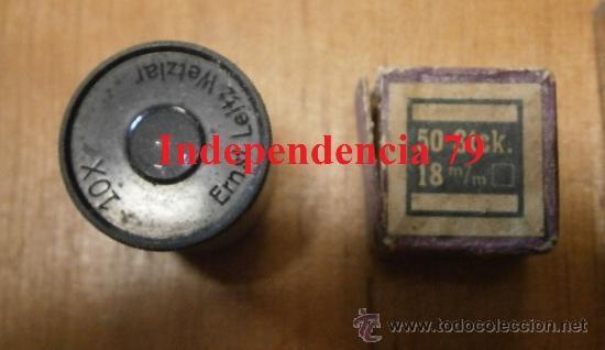 Antigüedades: Microscopio alemán en caja - Foto 3 - 35233944