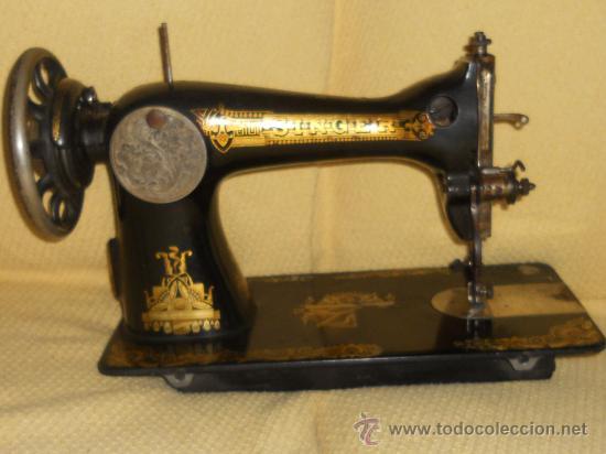 ANTIGUA MAQUINA DE COSER SINGER 1922 . (Antigüedades - Técnicas - Máquinas de Coser Antiguas - Singer)