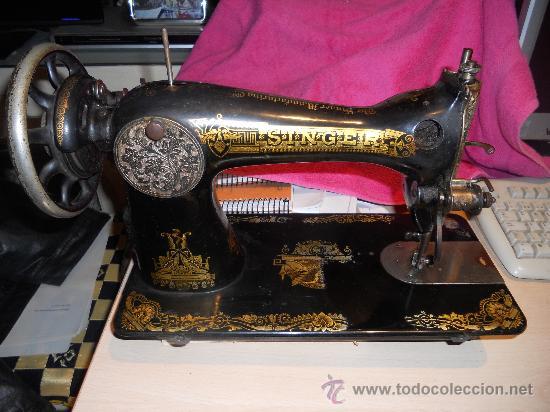 Antigüedades: ANTIGUA MAQUINA DE COSER SINGER 1922 . - Foto 2 - 35342210