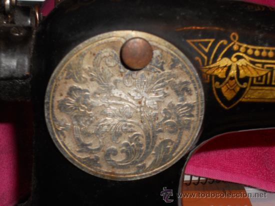 Antigüedades: ANTIGUA MAQUINA DE COSER SINGER 1922 . - Foto 7 - 35342210