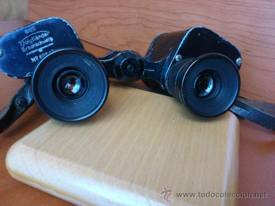 Antigüedades: Prismaticos antiguos marca alemana Voigtländer Braunscheweig - Foto 12 - 35316891