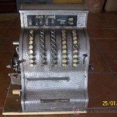 Antigüedades: MAQUINA REJISTRADORA SE AMITEN OFERTAS RAZONABLES. Lote 35449740