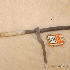 Antigüedades: PASADOR ANTIGUO DE FORJA. Lote 35469127