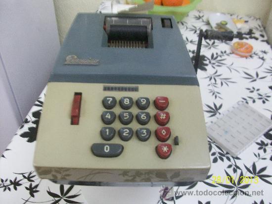 Antigüedades: calculadora marca precisa - Foto 2 - 35496792