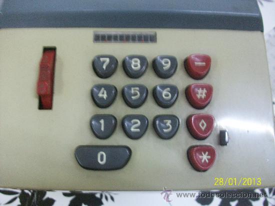 Antigüedades: calculadora marca precisa - Foto 5 - 35496792
