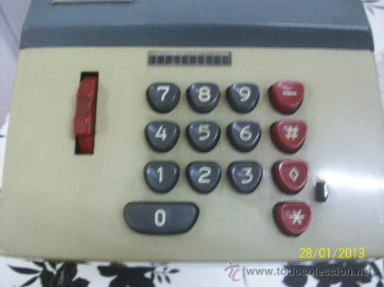 Antigüedades: calculadora marca precisa - Foto 6 - 35496792