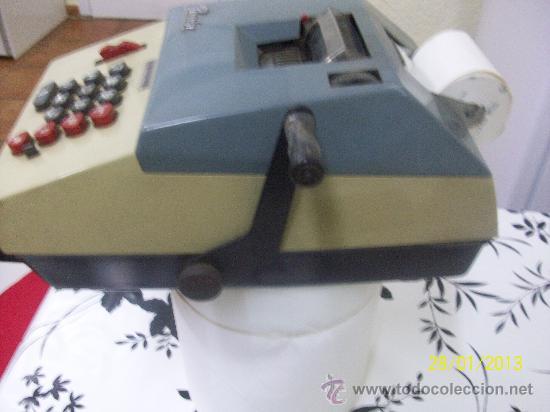 Antigüedades: calculadora marca precisa - Foto 7 - 35496792
